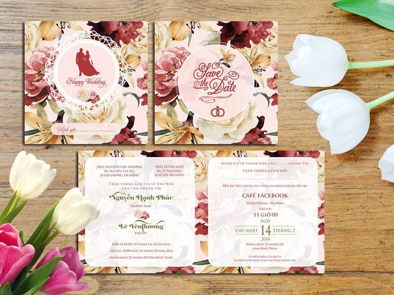 In thiệp cưới tại Thanh Hóa